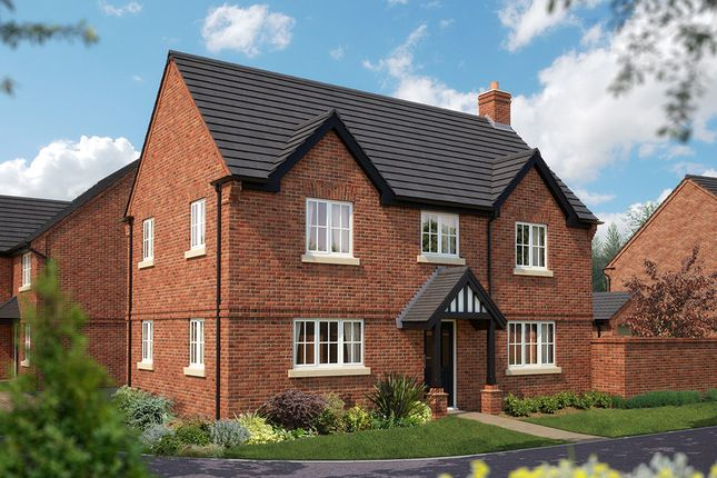 "Thumbnail Detached house for sale in ""The Montpellier"" at Burton Road, Streethay, Lichfield"