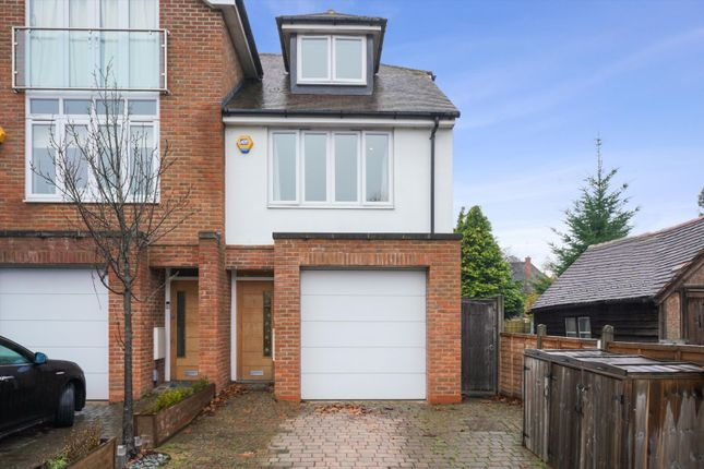 4 bed semi-detached house for sale in Camphill Road, West Byfleet, Surrey KT14