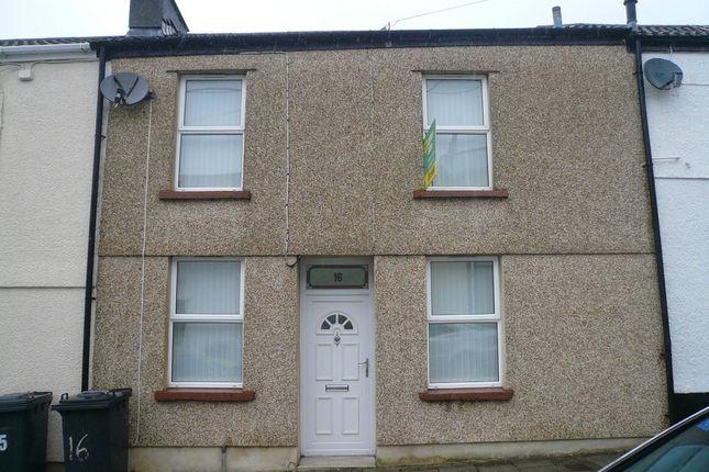 Thumbnail Terraced house to rent in Mount Pleasant Street, Dowlais, Merthyr Tydfil