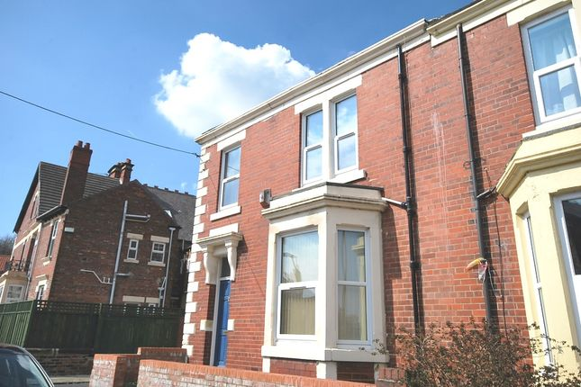 Thumbnail End terrace house to rent in Salisbury Gardens, Newcastle Upon Tyne