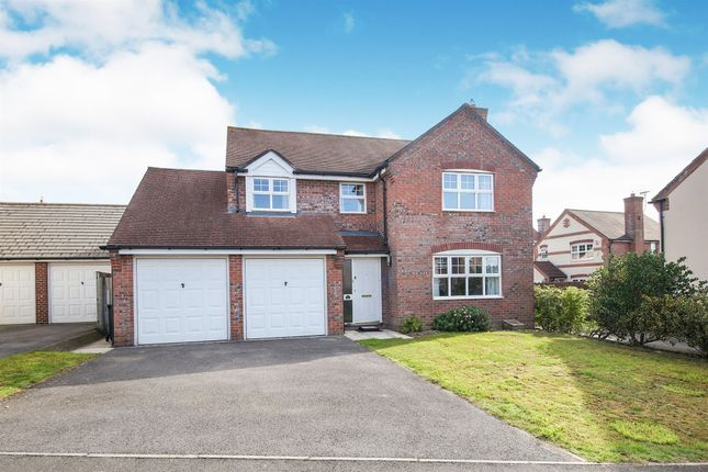Thumbnail Detached house for sale in Shottesford Avenue, Blandford Forum