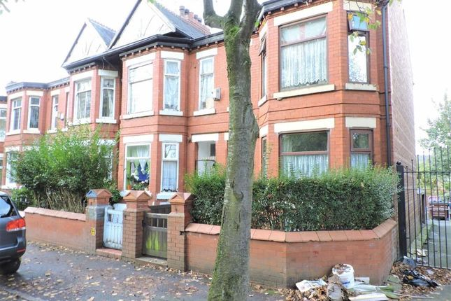 Thumbnail End terrace house for sale in East Road, Longsight, Manchester