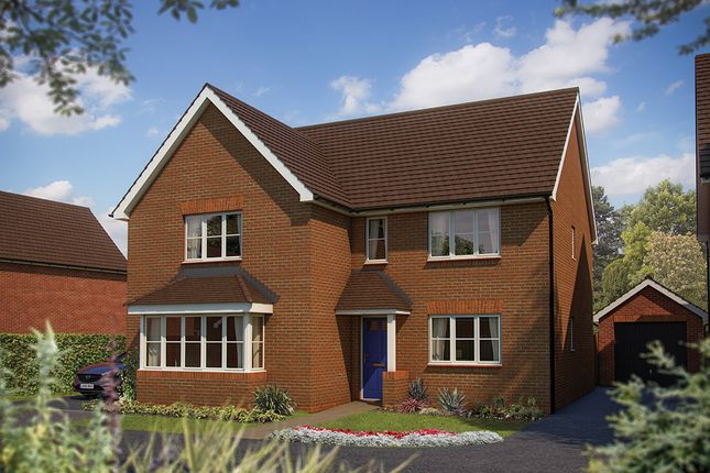 "Thumbnail Detached house for sale in ""The Arundel"" at Stonebow Road, Drakes Broughton, Pershore"