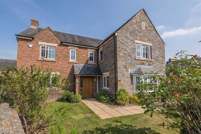 Thumbnail Detached house for sale in Burrium Gate, Usk, Monmouthshire