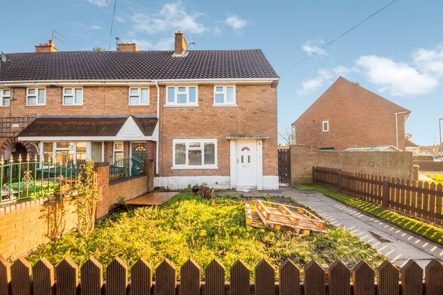 Thumbnail End terrace house for sale in Rutherford Road, Walsall