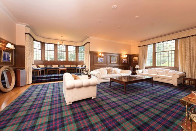 Drawing Room of Boquhan House, Boquhan, Stirling FK8