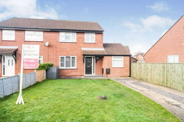 Thumbnail Semi-detached house for sale in Saxonfield, Coulby Newham, Middlesbrough