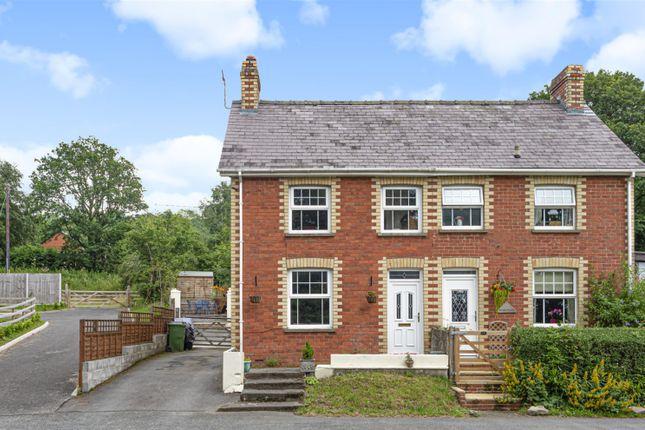 Thumbnail Semi-detached house for sale in Crossgates, Llandrindod Wells