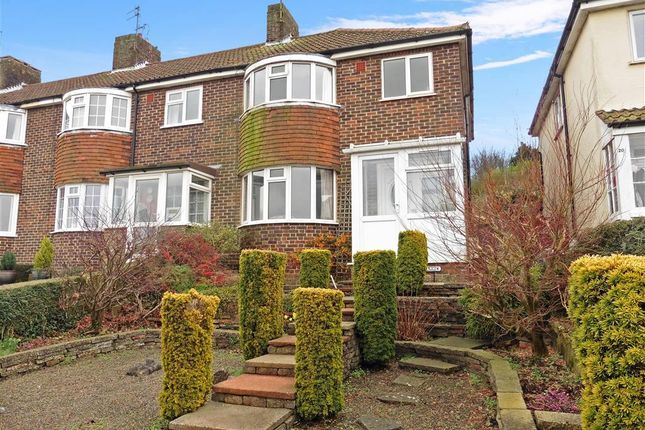 3 bed end terrace house for sale in Malling Down, Lewes, East Sussex