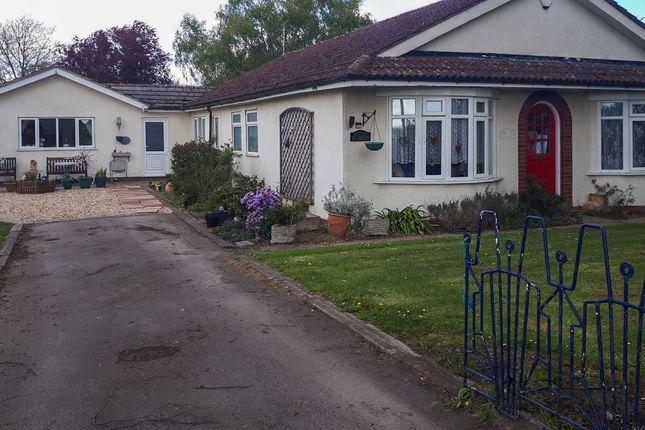 Thumbnail Detached bungalow for sale in Potter Hill Road, East Collingham, Newark, Nottinghamshire