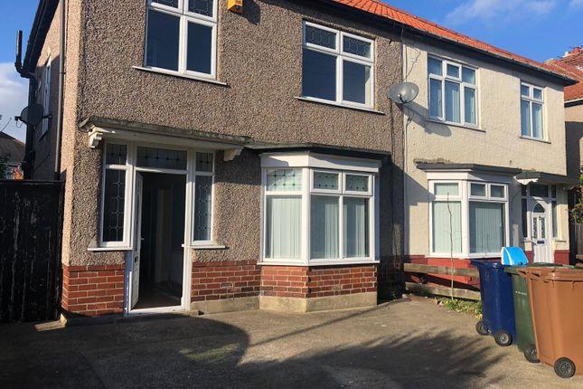 Semi-detached house to rent in Hoyle Avenue, Fenham, Newcastle Upon Tyne