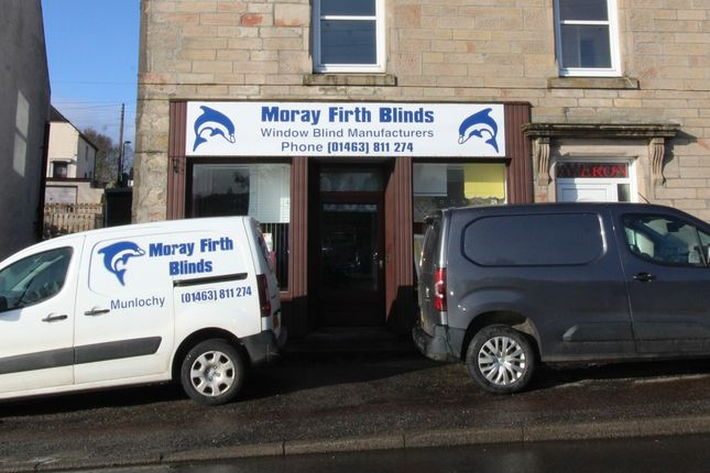 Thumbnail Retail premises for sale in Moray Firth Blinds Ltd, 24-26 Millbank Road, Munlochy