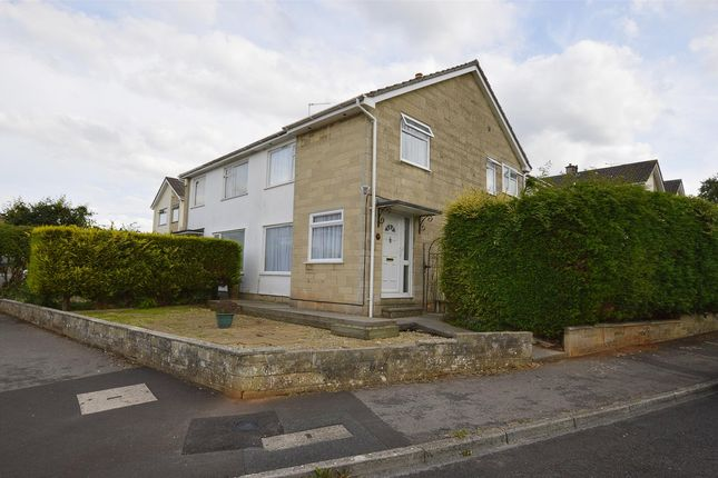 Thumbnail Semi-detached house to rent in High Meadows, Midsomer Norton, Radstock, Somerset