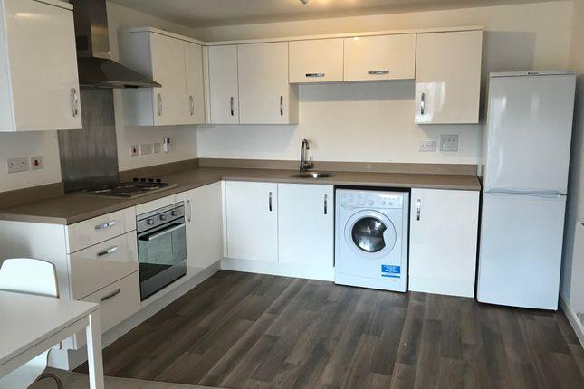 Thumbnail Flat to rent in 1A Elmira Way, Salford