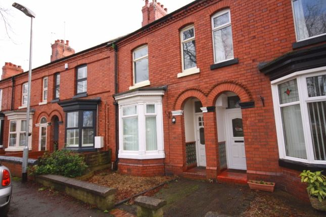 Thumbnail Terraced house to rent in The Crescent, Nantwich