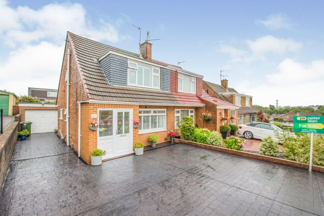 Thumbnail Semi-detached house for sale in Oakwood Avenue, Penylan, Cardiff