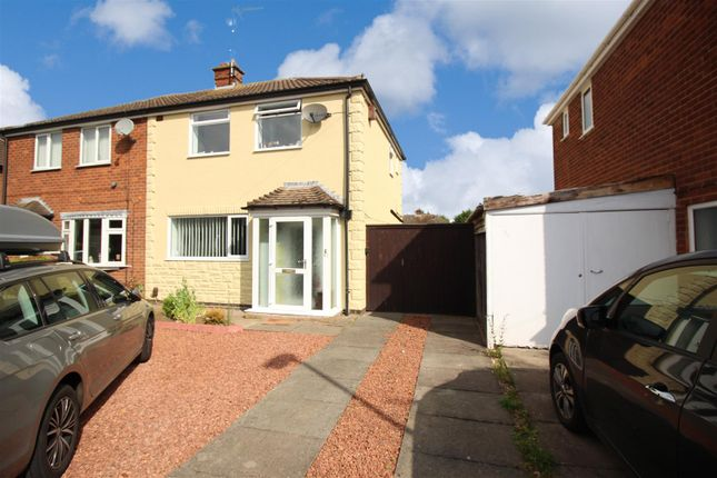 Thumbnail Semi-detached house to rent in Newstead Avenue, Burbage, Hinckley
