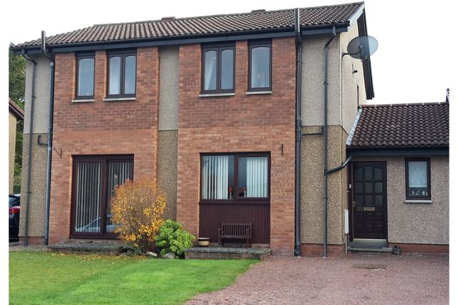 Thumbnail Detached house for sale in Heathpark Place, Selkirk