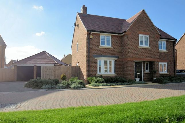 Thumbnail Detached house for sale in Barnett Road, Steventon, Abingdon