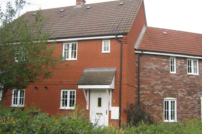 Thumbnail Terraced house to rent in North Fields, Sturminster Newton