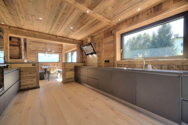 Kitchen of Megeve, Rhones Alps, France