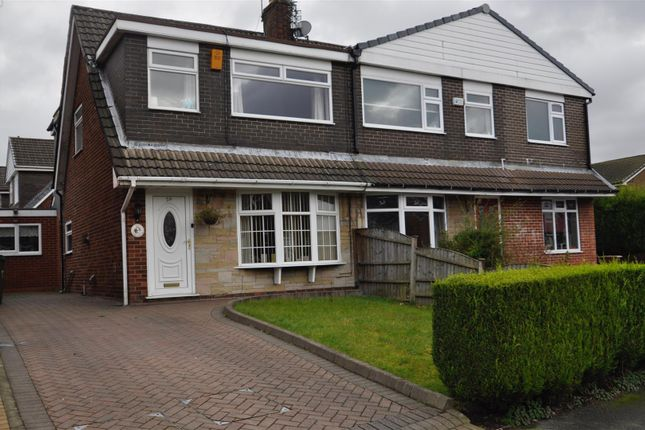 Thumbnail Semi-detached house for sale in Charlton Avenue, Newton, Hyde