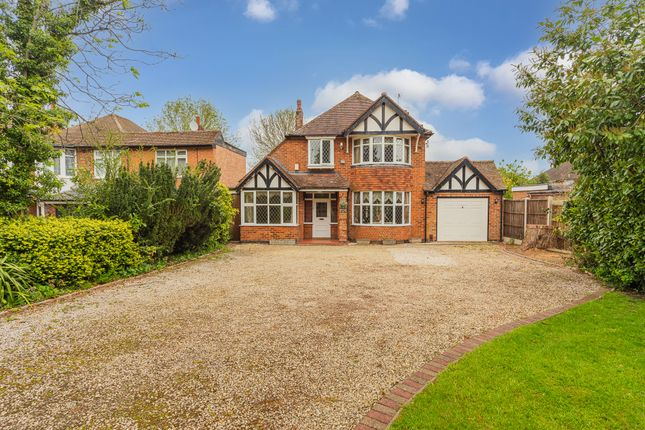 Thumbnail Detached house for sale in Uppingham Road, Evington, Leicester