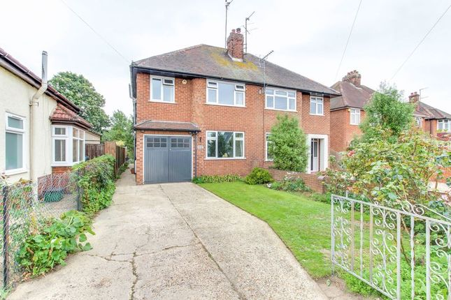 Thumbnail Semi-detached house for sale in Shrub End Road, Colchester