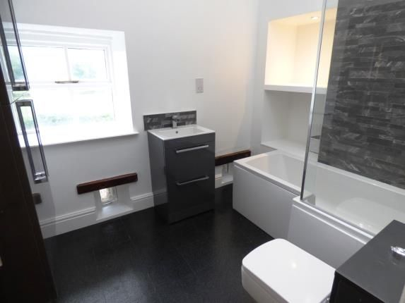 New Bathroom of Waterside Farm, Waterside, Stockport, Cheshire SK12