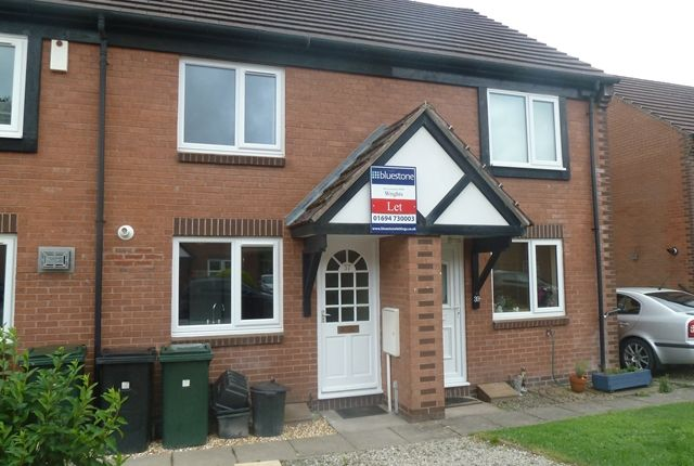 Thumbnail Terraced house to rent in Swains Meadow, Church Stretton