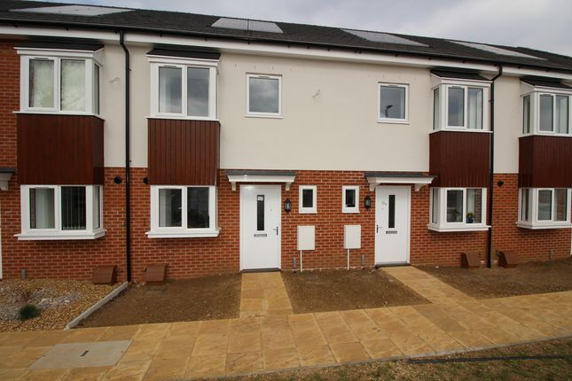 Thumbnail Terraced house for sale in Plot 203 Britannia Gate, Palgrave Road (B Type), Bedford