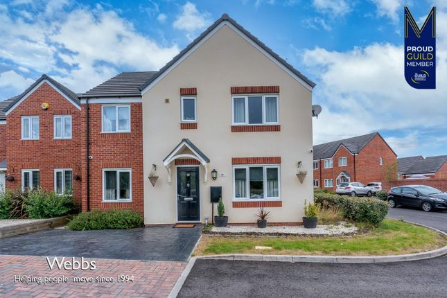 5 bed detached house for sale in Winding House Drive, Hednesford, Cannock WS12