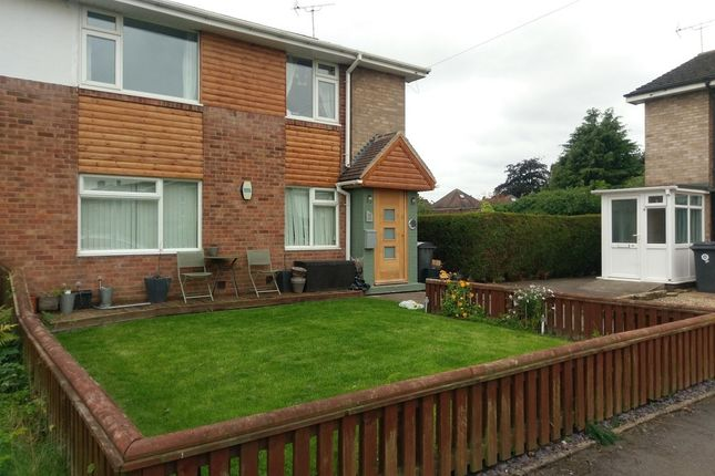 Thumbnail Flat to rent in Vesey Close, Water Orton, Birmingham