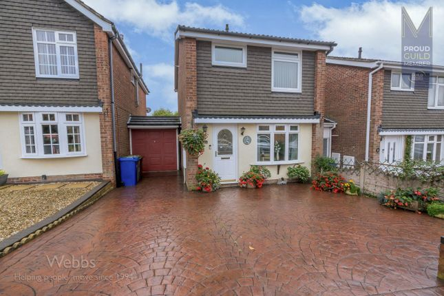 3 bed link-detached house to rent in Fairfield Close, Heath Hayes, Cannock WS12