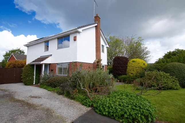 Thumbnail Detached house for sale in West Way, Rossett, Wrexham