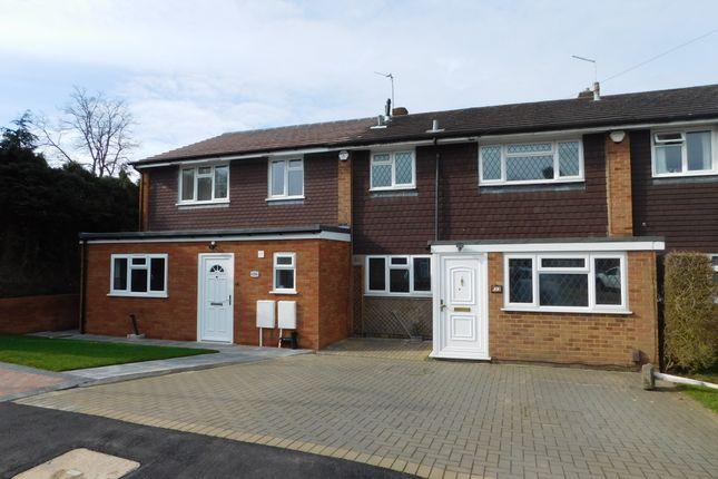 Thumbnail Terraced house to rent in Salt Hill Close, Ickenham