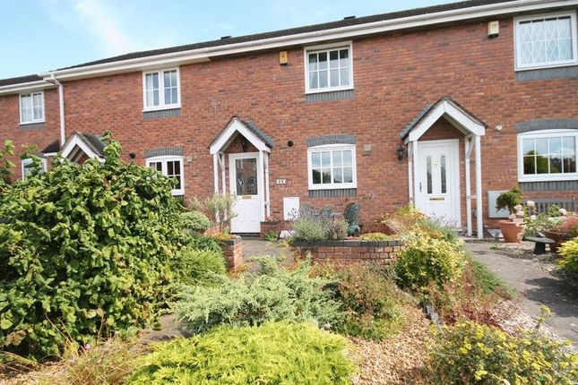 Thumbnail Terraced house for sale in Waterside Drive, Market Drayton