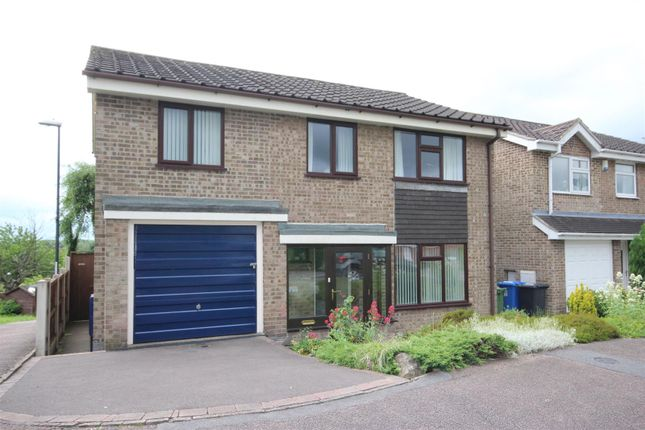 Thumbnail Detached house for sale in Stanage Green, Mickleover, Derby