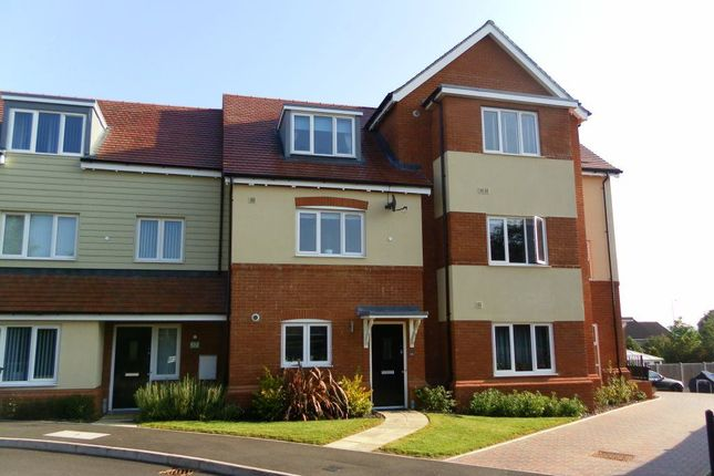 Thumbnail Flat to rent in Aurora Close, Watford