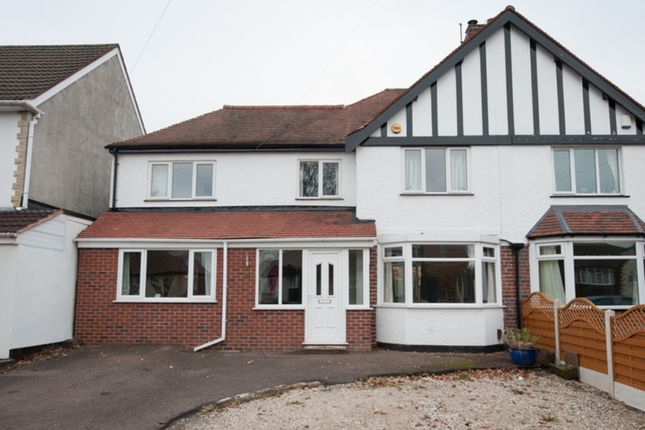 Thumbnail Semi-detached house for sale in Bedford Road, Sutton Coldfield