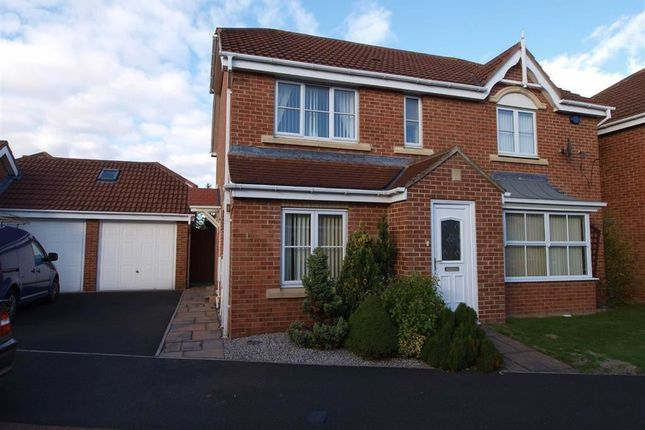 Thumbnail Detached house for sale in Lodsworth Drive, Cramlington