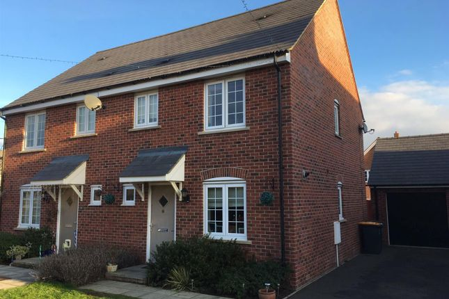 Thumbnail Semi-detached house for sale in Swift Way, Wixams, Bedford