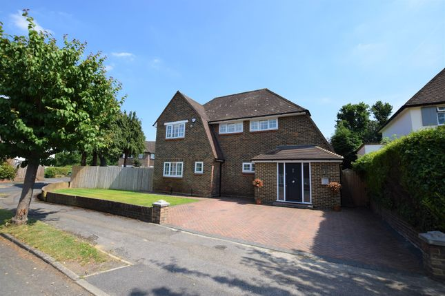 Thumbnail Detached house for sale in Evelyn Way, Cobham