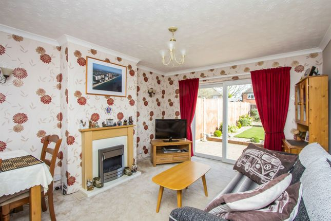 Thumbnail Semi-detached bungalow for sale in Keswick Road, Blaby, Leicester
