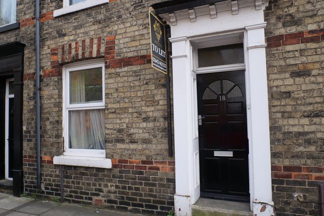 2 bed terraced house to rent in St. Barnabas Road, Middlesbrough TS5