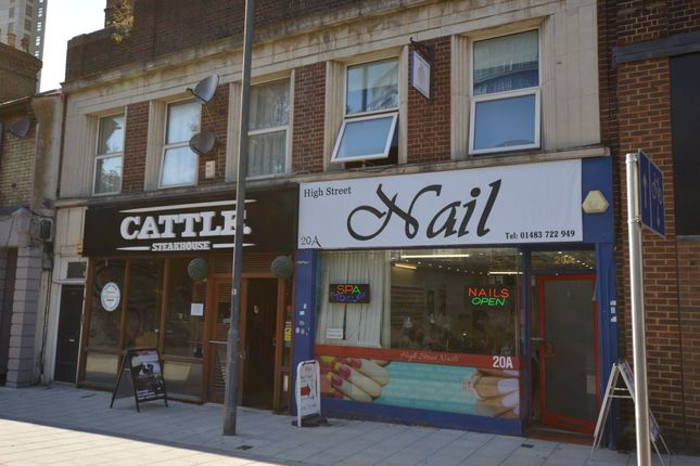 Thumbnail Flat for sale in High Street, Woking