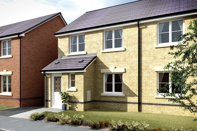 Thumbnail Semi-detached house for sale in The Ogmore, Hawtin Meadows, Pontllanfraith, Blackwood, Caerphilly