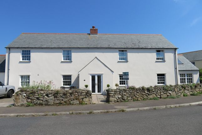Thumbnail Detached house for sale in Tower Meadows, St. Buryan, Penzance