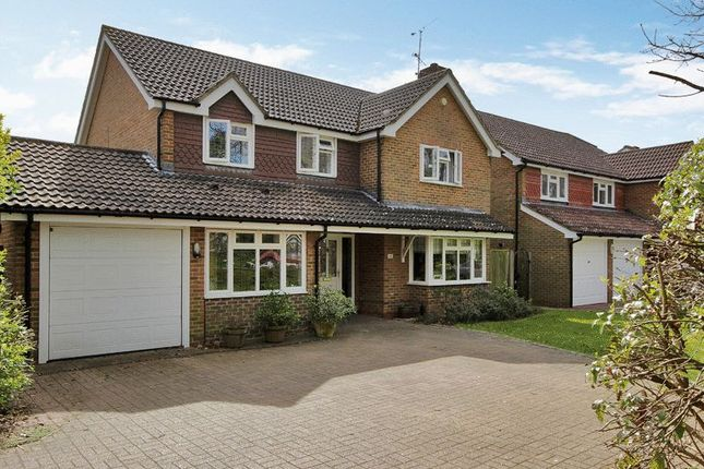 Thumbnail Detached house for sale in Blackwater Lane, Pound Hill, Crawley, West Sussex
