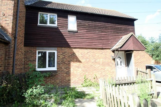Thumbnail End terrace house to rent in Jasper Road, Beckton, London